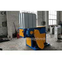 Wholesale Single Shaft Plastic Lumps Shredder , Plastic Lump Crusher With PLC Control System from china suppliers
