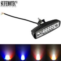 Wholesale 6 inch Super Slim Mini Led Bar Work Light For Motorcycle 4x4 Offroad Car DRL Signal Lamp External Warning Daytime Runnin from china suppliers