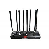 China 120W High Power 2G 3g 4g signal blocker , WIFI Mobile Phone Signal Jammer Up to 150m on sale