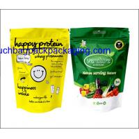 Wholesale Color printing plastic food packaging bag, stand up pack pouch for food from china suppliers