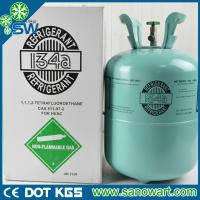 Wholesale refrigerant gas r134a with disposable cylinder package 13.6kg from china suppliers