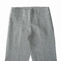 Wholesale Women's Linen/Cotton Pants with Fashionable Design from china suppliers