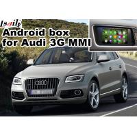 Wholesale Audi Q5 3G MMI video Android navigation box video interface , Car Navigation Box from china suppliers
