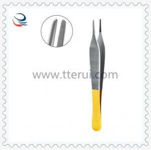 Tweezers-flat teeth TR-IS-695