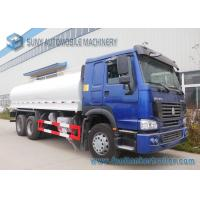 Wholesale Sinotruk 270HP 6x4 Oval Oil Tank Truck With ZZ1257M4347D1 Chassis from china suppliers