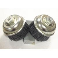 Wholesale 3 Inch OD Nylon Abrasive Cup Brush , Silicon Carbide Nylon Bristle Brush from china suppliers