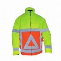 Wholesale Reflective Safety Jacket for Men, EN 471/EN 343 Standard, Made of T/C Twill Fabric from china suppliers