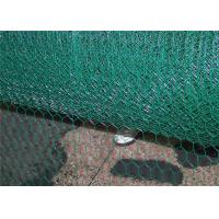 Buy cheap Green Coated Chicken Wire / Pvc Coated Chicken Wire Oxidation Resisting from wholesalers