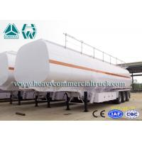 Wholesale 40cbm 60000L Commercial Fuel Tank Semi Trailer Mechanical Suspension from china suppliers