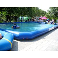 Wholesale 0.9mm PVC Tarpaulin Above Ground Inflatable Swimming Pools for kids and Adults Water Fun from china suppliers