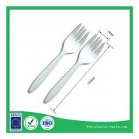 Wholesale Cornstarch Biodegradable Disposable Dinner Fork from china suppliers