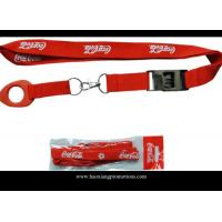 Wholesale Cheap red color 20*900mm Custom logo for Promotional Polyester Lanyards from china suppliers