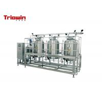 China Sub Vertical Small Dairy Equipment CIP Cleaning System SUS304 Corrosion Resistance on sale