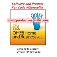 Wholesale OEM Microsoft Office 2010 Product Key, Cheap wholesale Office Home And Business 2010 OEM Key Code from china suppliers
