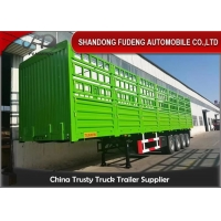 Wholesale Customized 60T 3 Axle 40Ft Side Wall Semi Trailer from china suppliers