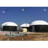 Wholesale Porcelain Double Coating Liquid Storage Tanks 0.25 - 0.45 Mm Coat Thickness from china suppliers
