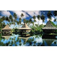 Wholesale Prefab Prefabricated Bali Bungalow , Overwater Bungalows For Resort Maldives from china suppliers