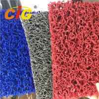 Wholesale Colored Looping Yarn PVC Floor Covering Carpet Rolls , Door Floor Mats 1.22m X 18m from china suppliers