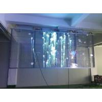 Waterproof Cabinet DIP Transparent Glass LED Display P8 Outdoor For Advertising / Stage