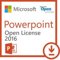 Microsoft Powerpoint 2016 - Open License New to Open License program