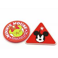Wholesale Embossed Logo Colored Custom Clothing Patches Rubber Badge Garment Accessories from china suppliers