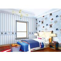 Wholesale Waterproof Cute Bedroom Wallpaper Non - Pasted For Boy , Eco Friendly from china suppliers