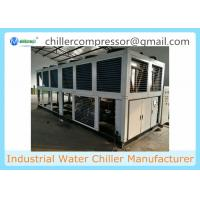 Wholesale 500kw Industrial Air Cooled Water Chiller for Cooling Water Tank from china suppliers