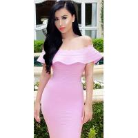 Buy cheap Anti - Wrinkle Noble A - Line Bandage Dress For Evening Party Dry Cleaning  from Wholesalers
