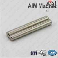 China Customized Rod Magnet N42 Nickel Plating on sale
