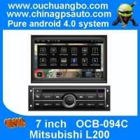 """China Ouchuangbo 7"""" DVD Radio Android 4.0 System for Mitsubishi L200 with S150 USB GPS Navigation 3G Wifi BT OCB-094C on sale"""