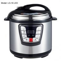 Wholesale Adjustable 6L Digital Pressure Cooker , Kitchen Pressure Cooker Progrommable from china suppliers