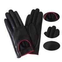 Buy cheap Durable Leather Winter Gloves , Custom Made Leather Gloves For Motorcycle from wholesalers