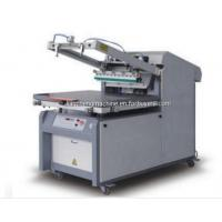 China CE certification LC4060/6080/6090 Flat Bed Microcomputer Screen Printing press Machine on sale