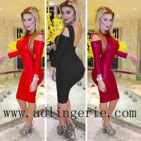 Wholesale 3-colors Backless Vintage Dress Spring 2014 Women Bodycon Celebrirty Cut Out Open Back Mesh Bandage from china suppliers