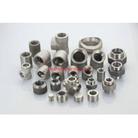 Wholesale ASTM A182 F20 UNS N08020 2.4660 forged socket threaded plug nipple boss union insert from china suppliers