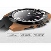 Buy cheap Round Screen Touch Mobile Watch Stainless Steel Watch Casing CE Certification from wholesalers