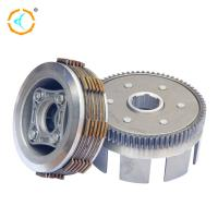China ADC12 Material 3 Wheeler Clutch 250cc Scooter Clutch Assembly For CBT250 on sale