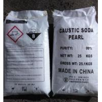 Wholesale Industrial Sodium Hydroxide Caustic Soda Pearls 99% CAS 1310-73-2 For Bleach from china suppliers