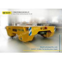 Wholesale Easy Operated Material Transfer Cart Industrial Plants Used , Yellow from china suppliers