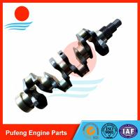 Quality Kubota engine spare parts V3800 crankshaft, good review from North America market for sale