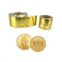 Wholesale 8011 46-50mic gold aluminium foil chocolate coins from china suppliers