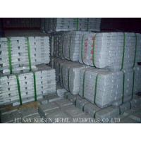 China Zinc Ingot 99.99% purity on sale