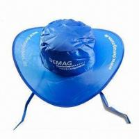 Wholesale Sun Visor/Promotional Cap with Matching Pouch, Made of Nylon from china suppliers