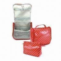 Wholesale 12oz Cotton Cosmetic Bags with Star Pattern, Measures 20 x 6 x 12cm from china suppliers