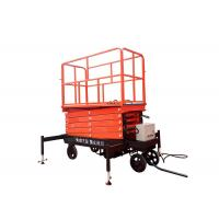 Wholesale Self Propelled Hydraulic Mobile Scissor Lift Table With Lifting Height 3 - 16m from china suppliers
