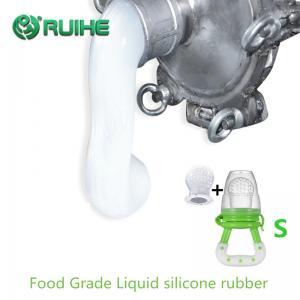 50 Shore A Translucent Platinum Cure Food Grade Liquid Silicone Rubber