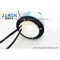 China Through Bore Electrical Slip Ring For Heating Roller Machinery , 2 Circiuts 50A on sale