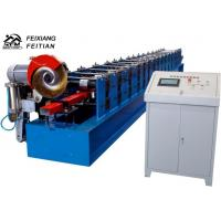 Wholesale High Speed Downspout Roll Forming Machine PLC Control Half Round Gutter Machine from china suppliers
