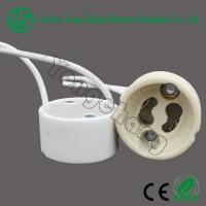 Wholesale GU10 led holder halogen ceramic base from china suppliers