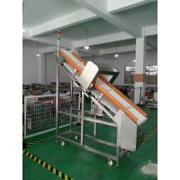 Wholesale 25 M/Min Inclined Auto Conveyor Belt Metal Detector For Wet Foods Checking from china suppliers